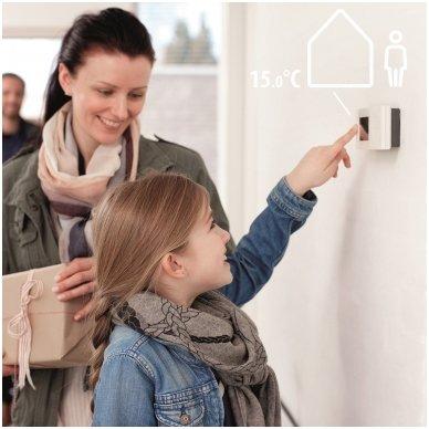 Belaidis termostatas Danfoss TPOne-S WiFi su signalo priėmėju 5