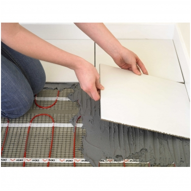 Šildymo kilimėlis DEVIcomfort 150T ir DEVIreg Smart WiFi 5