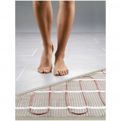 Šildymo kilimėlis DEVIcomfort 150T ir DEVIreg Smart WiFi 4