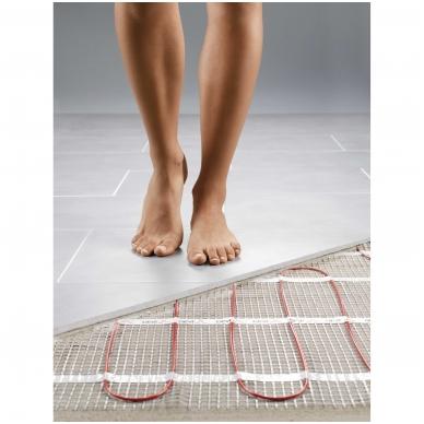 Šildymo kilimėlis DEVIcomfort 150T ir DEVIreg Touch 5